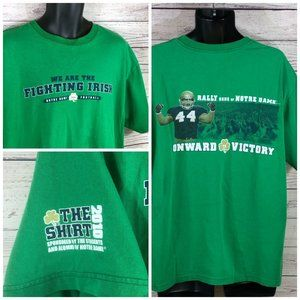 2010 Notre Dame Football Size XL We Are The Fighti